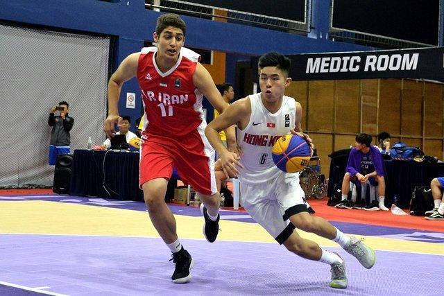 حذف بسکتبال سه نفره ایران از قهرمانی آسیا